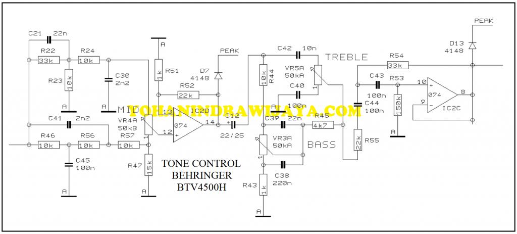 TONE CONTROL BVT4500H